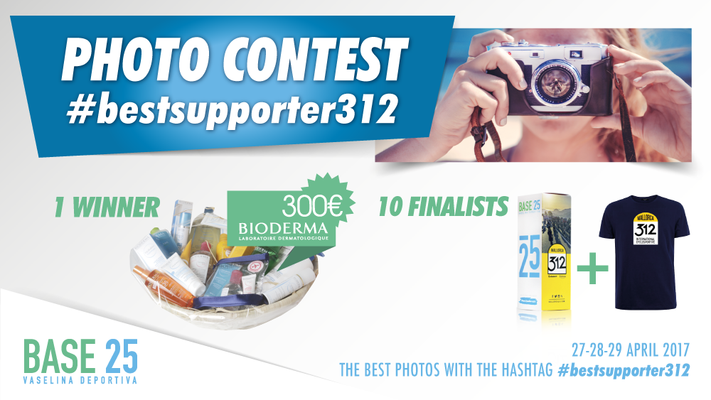 Follow the Mallorca312 and win a prize for the best photo with the hashtag #bestsupporter312