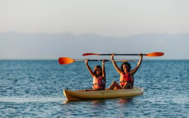 Disfruta del kayak y evita rozaduras